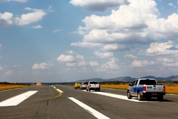 Aeroporto de Barra do Garças irá receber investimento de R$ 38 milhões em dois anos