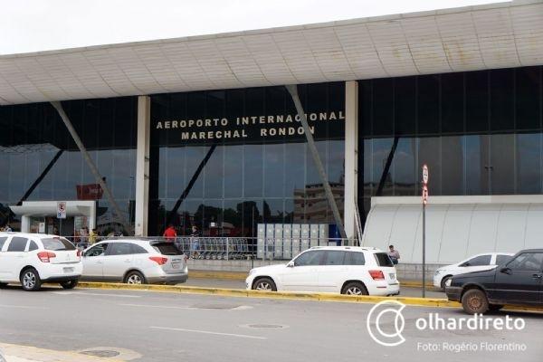 Aeroporto de Cuiabá deve receber autorização para voos internacionais até março